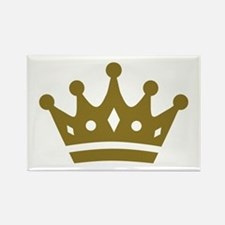 Golden crown Rectangle Magnet