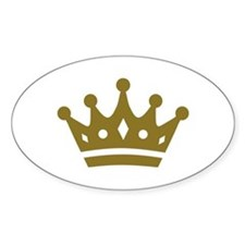 Golden crown Decal