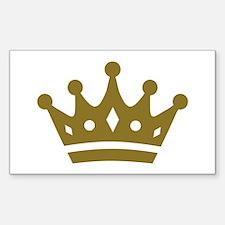 Golden crown Decal