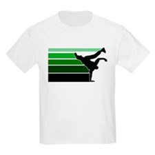 Break lines grn/blk T-Shirt