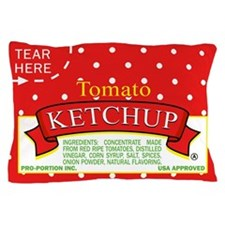 Ketchup Packet Pillow Case