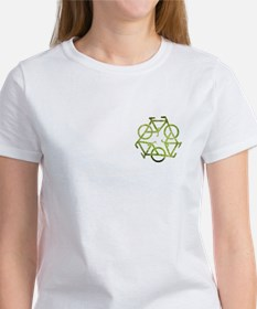 Funny Recycle symbol Tee