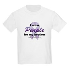 Purple for Brother T-Shirt