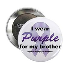 """Purple for Brother 2.25"""" Button"""