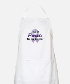 Purple for Brother Apron