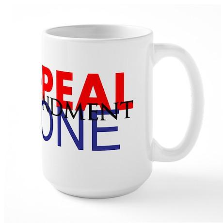 Repeal Amendment One NC Design # 4 Large Mug