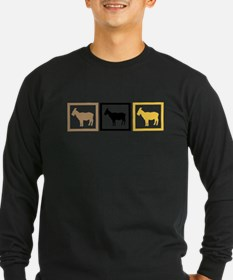 Goat Squares Long Sleeve T-Shirt