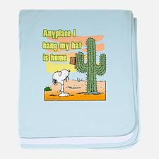 Cactus Home baby blanket
