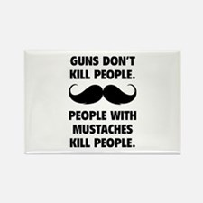Guns don't kill people Rectangle Magnet (10 pack)