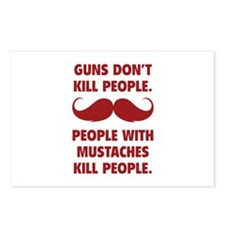 Guns don't kill people Postcards (Package of 8)
