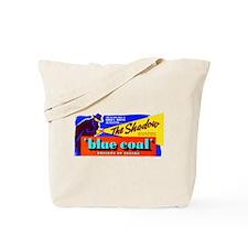 Shadow - Blue Coal #1 Tote Bag