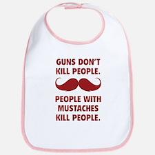 Guns don't kill people Bib