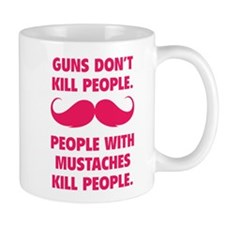 Guns don't kill people Mug