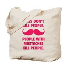 Guns don't kill people Tote Bag