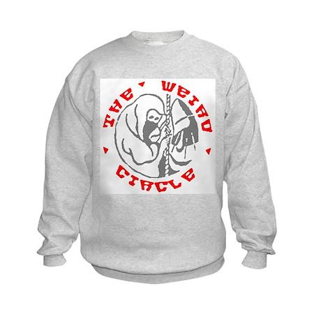 Weird Circle Kids Sweatshirt