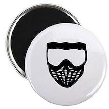 "Paintball mask 2.25"" Magnet (10 pack)"