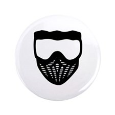 """Paintball mask 3.5"""" Button (100 pack)"""