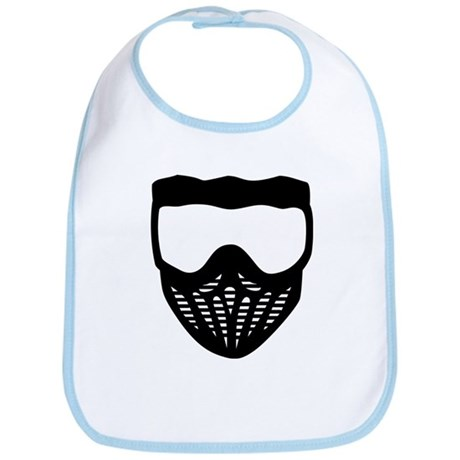 Paintball mask Bib