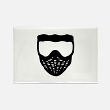 Paintball mask Rectangle Magnet