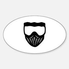 Paintball mask Decal