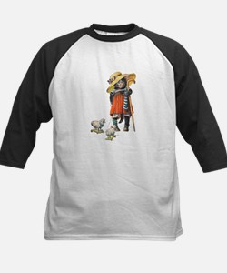 Cute Cat Plays Little Bo Peep Kids Baseball Jersey
