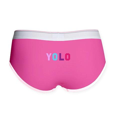YOLO Women's Boy Brief