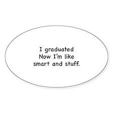I Graduated Decal
