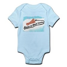 Bacon is Meat Candy 2 Infant Bodysuit