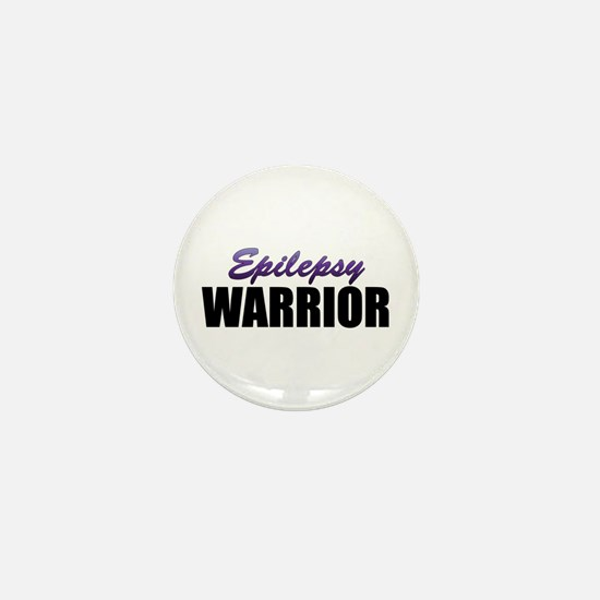 Epilepsy Warrior Mini Button (10 pack)