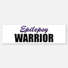 Epilepsy Warrior Bumper Bumper Sticker