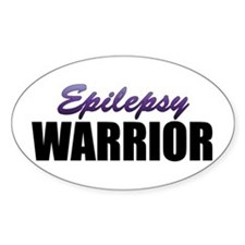 Epilepsy Warrior Decal