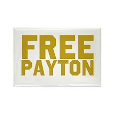 Free Payton Rectangle Magnet