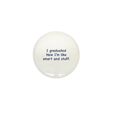 I Graduated Mini Button (100 pack)