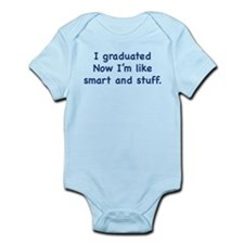I Graduated Infant Bodysuit