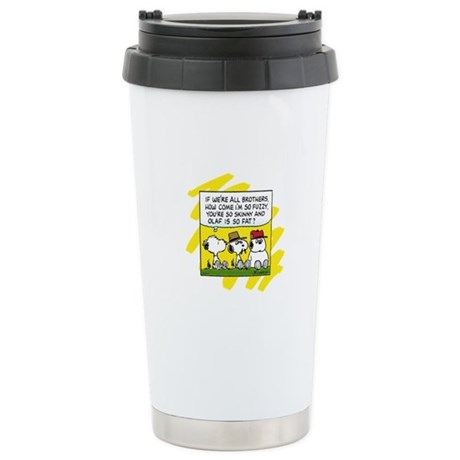 The Brothers Stainless Steel Travel Mug