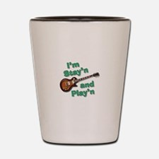 Guitar Playn Shot Glass