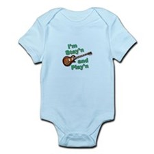 Guitar Playn Infant Bodysuit