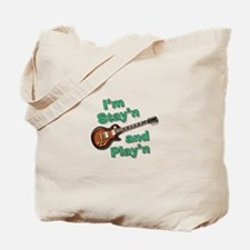 Guitar Playn Tote Bag