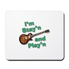 Guitar Playn Mousepad