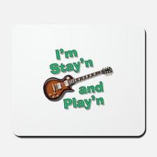 Guitar Playn Mousepad