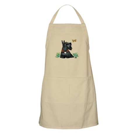Scotty and Butterfly Apron