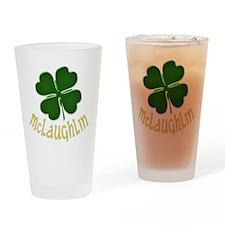 Irish McLaughlin Drinking Glass