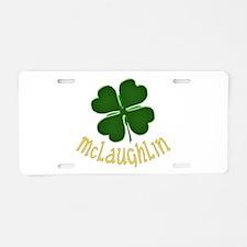 Irish McLaughlin Aluminum License Plate
