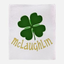 Irish McLaughlin Throw Blanket