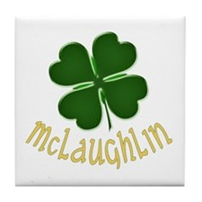 Irish McLaughlin Tile Coaster