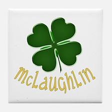 Irish McLaughlin Tile Coaster