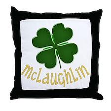 Irish McLaughlin Throw Pillow