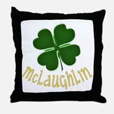 Irish McLaughlin Throw Pillow