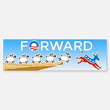 FORWARD Bumper Bumper Sticker