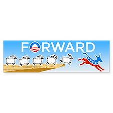 FORWARD Bumper Sticker